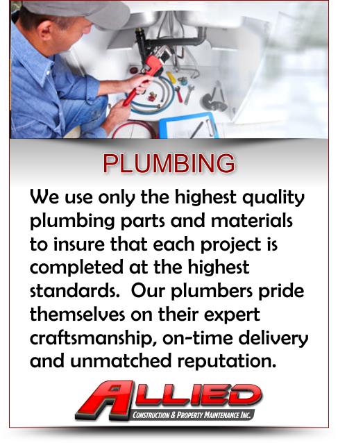 Plumbing and Repair Services Contractor for Property Maintenance and Commercial Construction and Remodeling Projects in Illinois