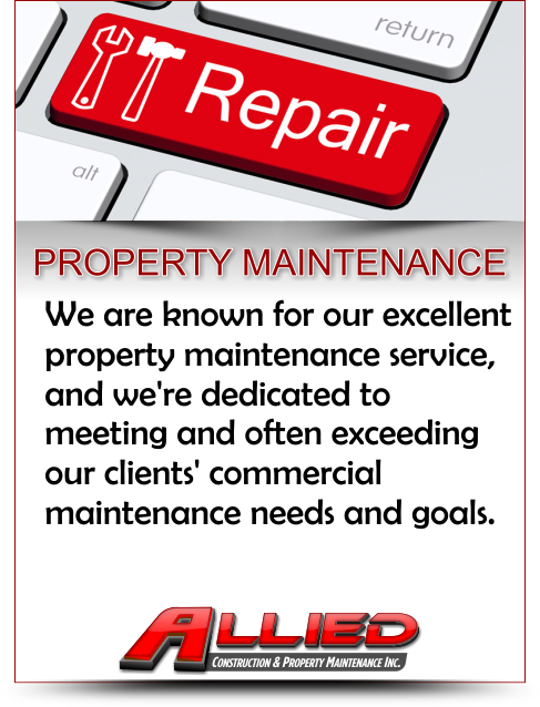 Property Maintenance Services Contractor for Property Maintenance and Commercial Construction and Remodeling Projects in Illinois