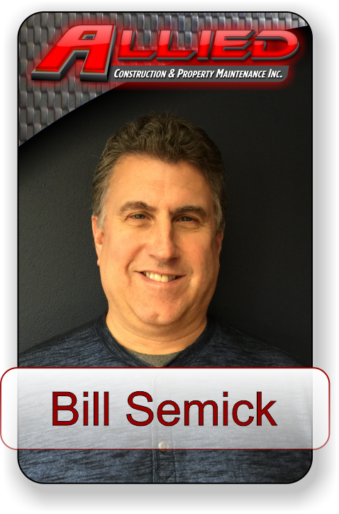 Meet Bill Semick with Allied Construction and Property Maintenance