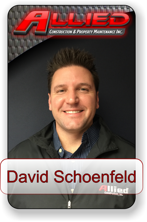 Meet David Schoenfeld with Allied Construction and Property Maintenance
