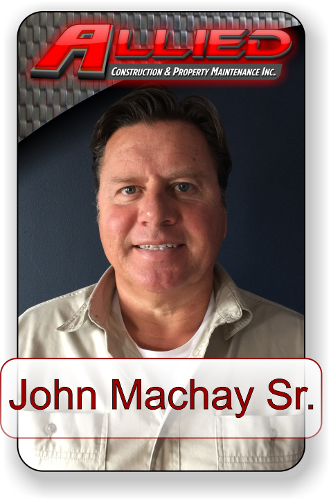 Meet John Machay Sr. with Allied Construction and Property Maintenance