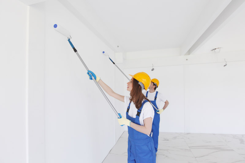 drywall and painting services for property maintenance and